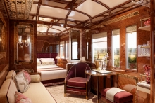 Wimberly Interiors designs three new Grand Suites for Venice Simplon-Orient-Express