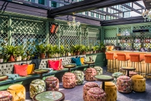 The Ivy Spinningfields expands private event space with striking new terrace