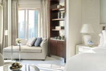 Four Seasons Hotel Doha reopens following expansive renovations and a complete redesign by Pierre-Yves Rochon