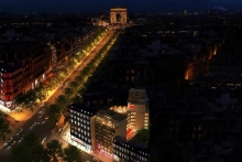 Affordable luxury on the iconic Champs-Élysées – citizenM prepares to open its fourth Parisian hotel this winter.