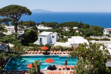 Capri Palace launches in Italy