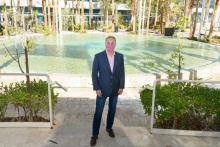 Virgin Hotels Las Vegas divulges details on outdoor pool and entertainment complex